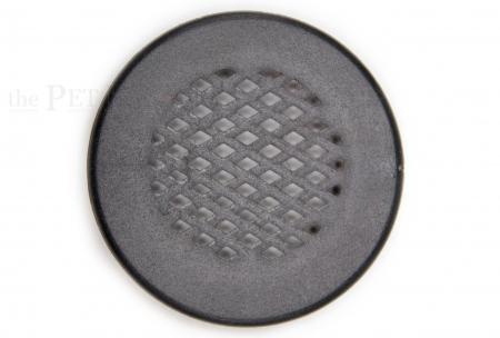 Lüftungsgitter Schwarz 35mm