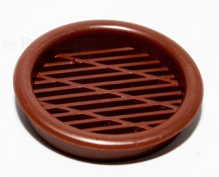 Lüftungsgitter Braun 43mm