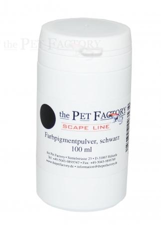Farbpigmentpulver, schwarz, 100 ml