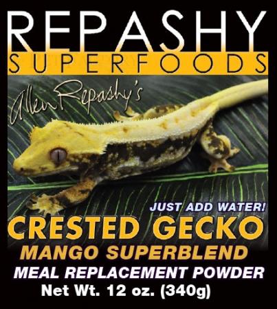 Crested Gecko Mango Superblend 2000g Dose