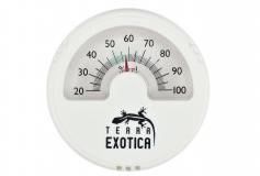 Hygrometer analog weiss