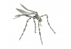Blechinsekt Mosquito silber