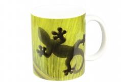 Kaffeebecher Gecko Blatt