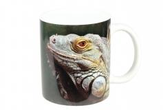 Kaffeebecher Iguana iguana head