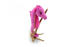 Kuschel Seepferd Pink