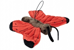 Kuschel Schmetterling rot