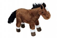 Kuschel Pferd braun