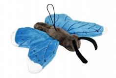 Kuschel Schmetterling blau