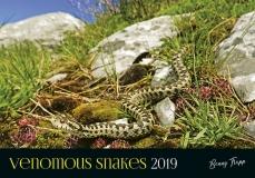 Kalender 2019 - Giftschlangen/Venomous Snakes
