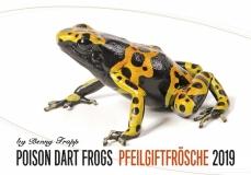 Kalender 2019 - Pfeilgiftfrösche/Poison Dart Frogs