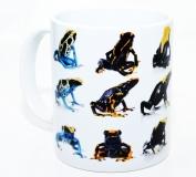 Kaffeebecher Dendrobates tinctorius Formen