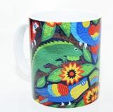 Kaffeebecher Tropical Art