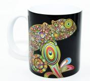 Kaffeebecher Chamaeleon Art