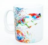 Kaffeebecher Chamaeleon Art 2